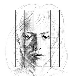 quintos faciales horizontales